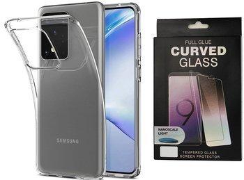 Etui pancerne SPIGEN LIQUID CRYSTAL Samsung Galaxy S20 CRYSTAL CLEAR +szkło UV