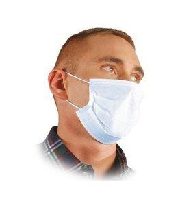 Maska medyczna ochronna maseczka chirurgiczna 3-warstwowa mix kolor 5 sztuk