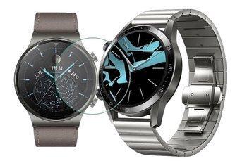 Opaska pasek bransoleta LINKBAND Huawei Watch GT 2 PRO 46mm srebrna +szkło hartowane na ekran