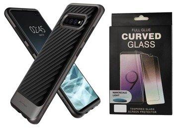 SPIGEN NEO HYBRID GALAXY S10+ PLUS GUNMETAL +szkło 5D UV