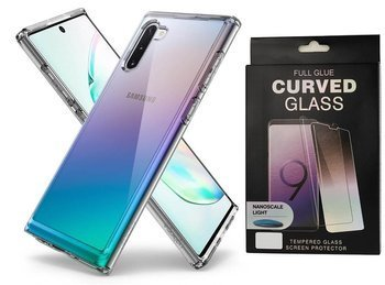 SPIGEN ULTRA HYBRID GALAXY NOTE 10 CRYSTAL CLEAR +szkło UV