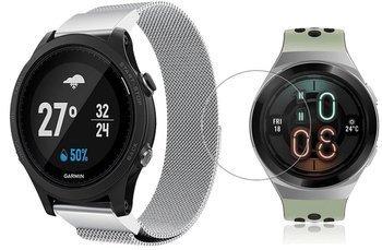 TECH-PROTECT MILANESE opaska pasek bransoleta BAND Huawei Watch GT 2e 46mm SILVER +szkło hartowane na ekran