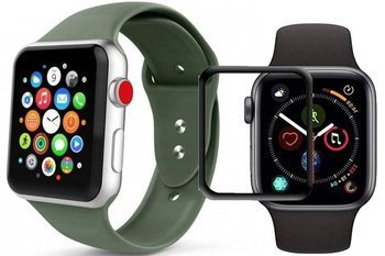TECH-PROTECT SMOOTHBAND APPLE WATCH 4/5 44MM ARMY GREEN +szkło 5D