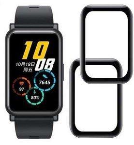 ZESTAW 2X Szkło hybrodowe FULL GLUE 5D Huawei Watch FIT czarny