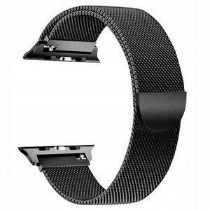 opaska pasek bransoleta MILANESEBAND Apple Watch 1/2/3/4/5 42/44mm BLACK