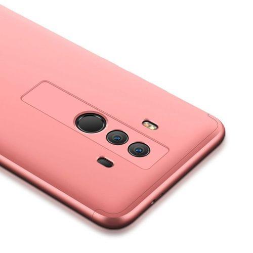 360 Protection etui na całą obudowę przód + tył Huawei Mate 10 Pro różowy