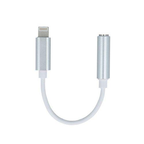 Adapter przejściówka IPHONE Audio Jack 3,5 mm biały