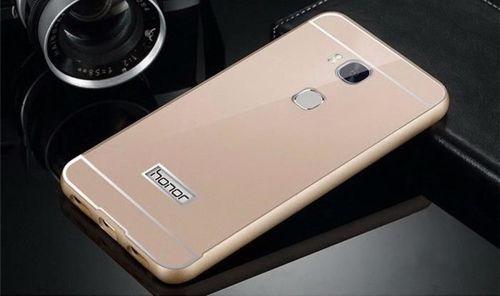 BUMPER ALU Huawei HONOR 5x złoty
