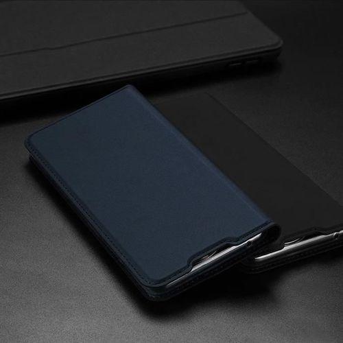 Carbon Case elastyczne etui pokrowiec Motorola G8 Plus czarny