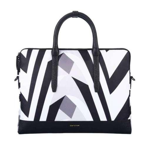 Cartinoe Prevalent Series Plus elegancka torba na laptopa 13,3'' cali czarno-biały