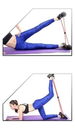 Chest Expender do ćwiczeń klatki piersiowej guma oporowa ekspander fitness czarna