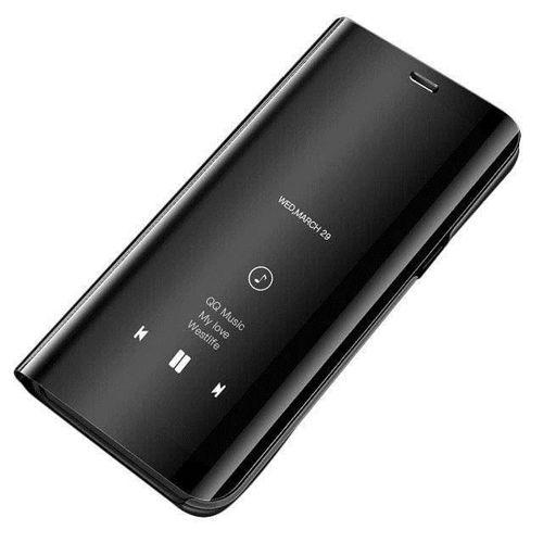 Clear View Case futerał etui z klapką Huawei P30 Pro czarny