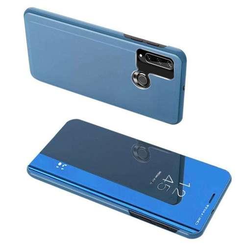 Clear View Case futerał etui z klapką Huawei Y6p niebieski