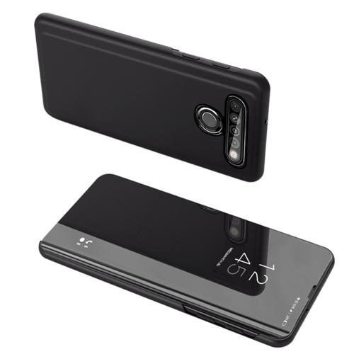 Clear View Case futerał etui z klapką LG K61 czarny