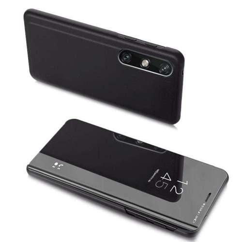 Clear View Case futerał etui z klapką LG Velvet 5G / LG Velvet czarny