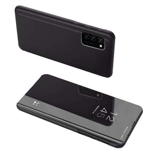 Clear View Case futerał etui z klapką Oppo Reno 4 Pro 5G czarny