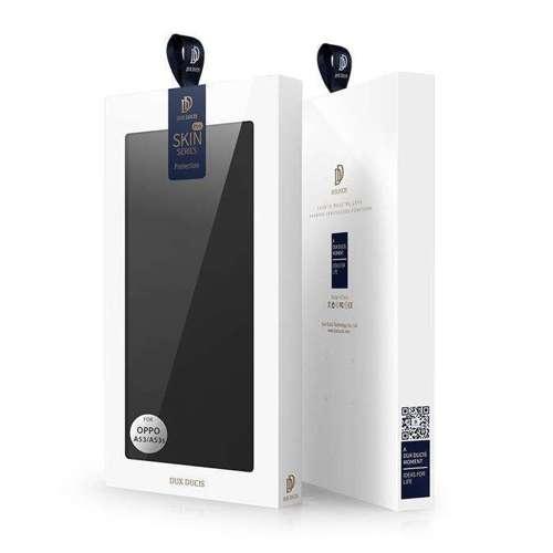 DUX DUCIS Skin Pro kabura etui pokrowiec z klapką Oppo A53/A53s czarny