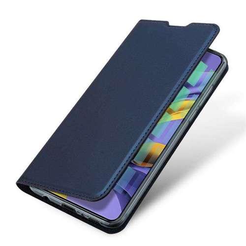DUX DUCIS Skin Pro kabura etui pokrowiec z klapką Samsung Galaxy A71 niebieski