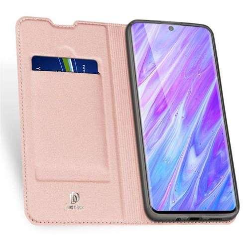 DUX DUCIS Skin Pro kabura etui pokrowiec z klapką Samsung Galaxy S20 Plus różowy