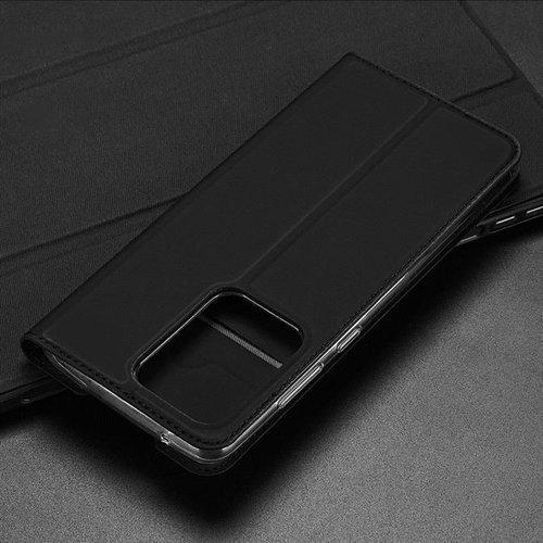 DUX DUCIS Skin Pro kabura etui pokrowiec z klapką Samsung Galaxy S20 Ultra złoty