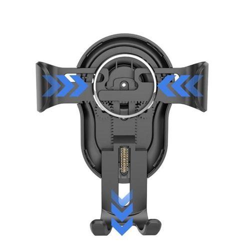 Dudao grawitacyjny uchwyt samochodowy na kratkę wentylacyjną nawiew czarny (F3 black)