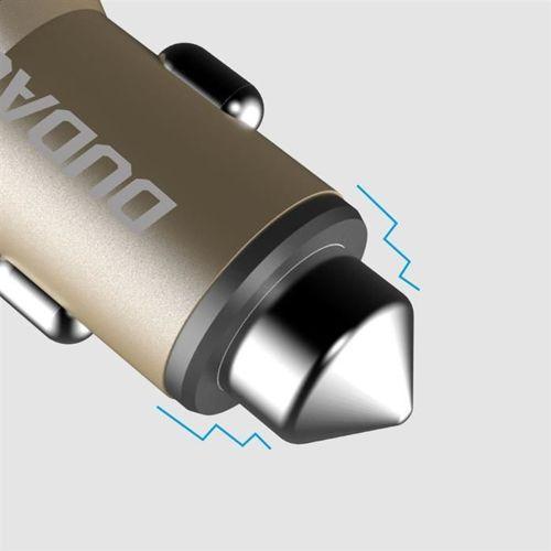 Dudao ładowarka samochodowa 2x USB 3.1A złoty (R5 gold)
