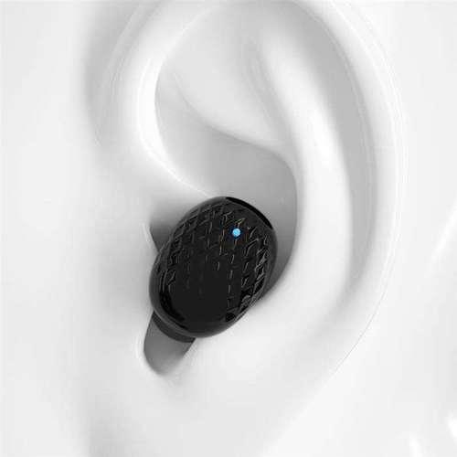 Dudao zestaw słuchawkowy mini bezprzewodowa słuchawka Bluetooth 5.0 do samochodu czarny (U9B black)
