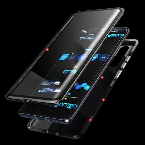 Etui 360 FULL GLASS MAGNETIC Samsung Galaxy A20e czarny