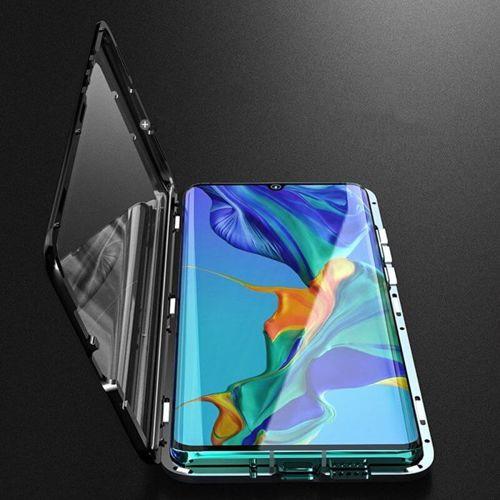 Etui 360 FULL GLASS MAGNETIC Samsung Galaxy A70 czarny