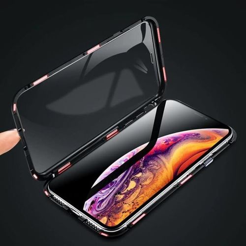 Etui 360 FULL GLASS MAGNETIC iPhone XS MAX czarny