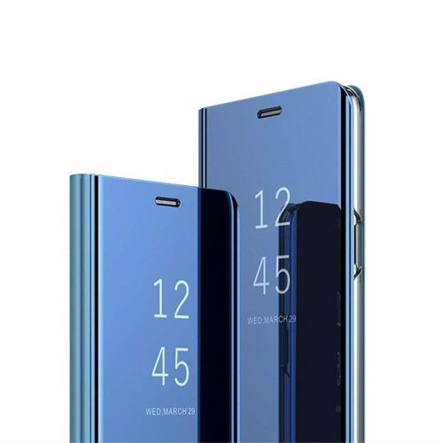 Etui Clear View Cover SAMSUNG J6+ J6 Plus niebieskie