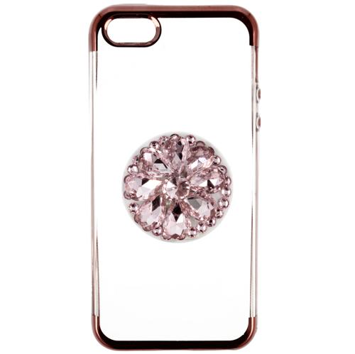 Etui Diamond Stand HUAWEI P20 LITE różowe