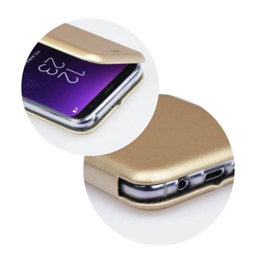 Etui Flip Elegance SAMSUNG J6 2018 złote magnetyczne