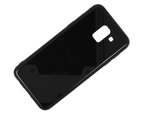 Etui Glass SAMSUNG A6 2018 czarne
