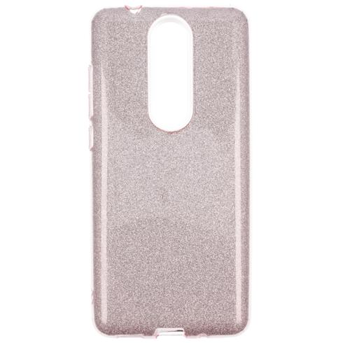 Etui Glitter NOKIA 5.1 różowe
