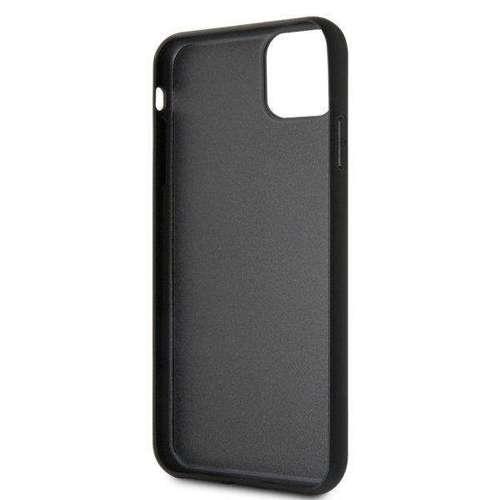 Etui Guess GUHCN65TRMLBK iPhone 11 Pro Max czarny/black hard case Triangle Glitter