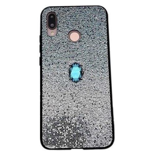 Etui IPHONE 6 / 6S Stone Glitter niebieskie