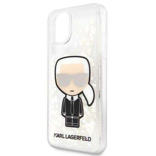 Etui Karl Lagerfeld KLHCN65GLGIRKL iPhone 11 Pro Max hardcase Ikonik Glitter Glow in the dark