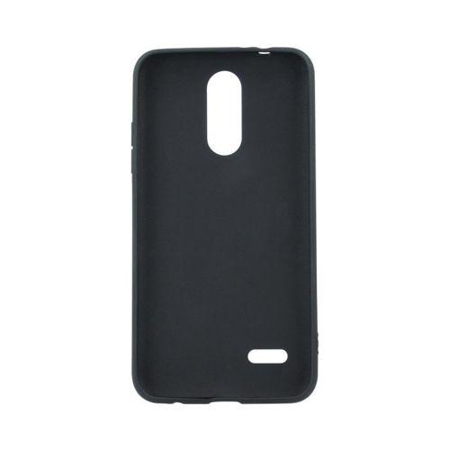 Etui LG K50S Back Żel Matt czarne