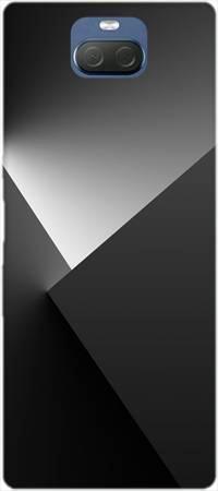 Etui ROAR JELLY czarne cienie na Sony Xperia 10