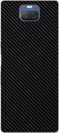 Etui ROAR JELLY czarne skosy na Sony Xperia 10