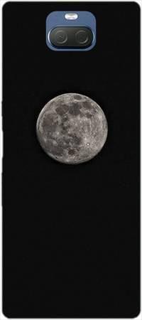 Etui ROAR JELLY czarny księżyc na Sony Xperia 10