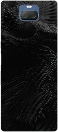 Etui ROAR JELLY czarny wiatr na Sony Xperia 10