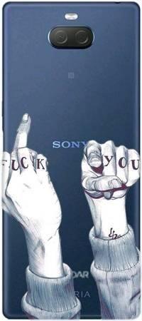 Etui ROAR JELLY fuck you na Sony Xperia 10