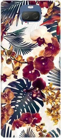 Etui ROAR JELLY tropikalne kwiaty na Sony Xperia 10