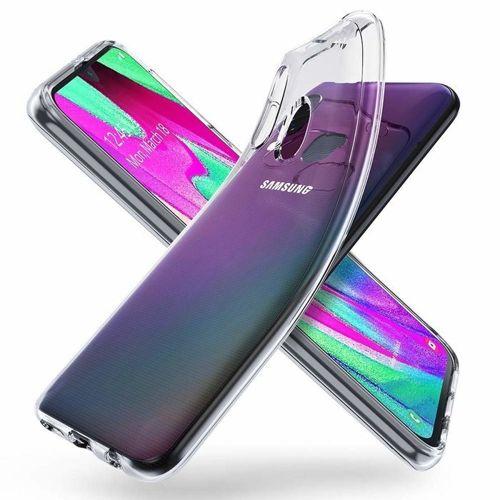 Etui Roar colorful Samsung Galaxy A40 transparentne