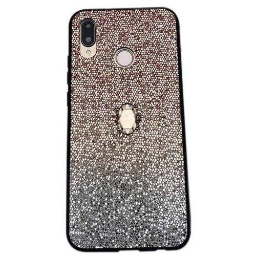 Etui SAMSUNG GALAXY A70 Stone Glitter złote