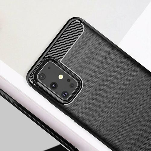 Etui Samsung Galaxy s20 Plus Pancerne Carbon czarne