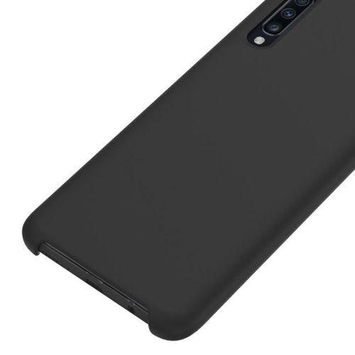 Etui Silicone case elastyczne silikonowe SAMSUNG GALAXY A70 czarne