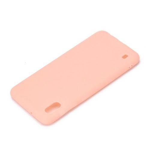Etui Silikonowe matowe Soft SAMSUNG GALAXY A10 różowe
